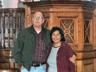 Dick and Gladys Funnel, Intercessor missionaries.